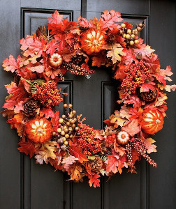 Anyone Can Make It Fall Wreath