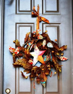 Trendy Fall Wreath