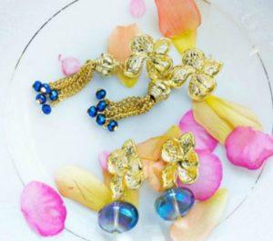 Hawaiian Orchid DIY Earrings