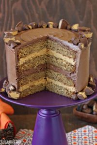 Peanut Butter and Banana Groom's Cake