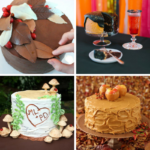 10 Beautiful Fall Wedding Cakes