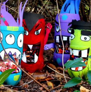 Silly Soda Bottle Monsters