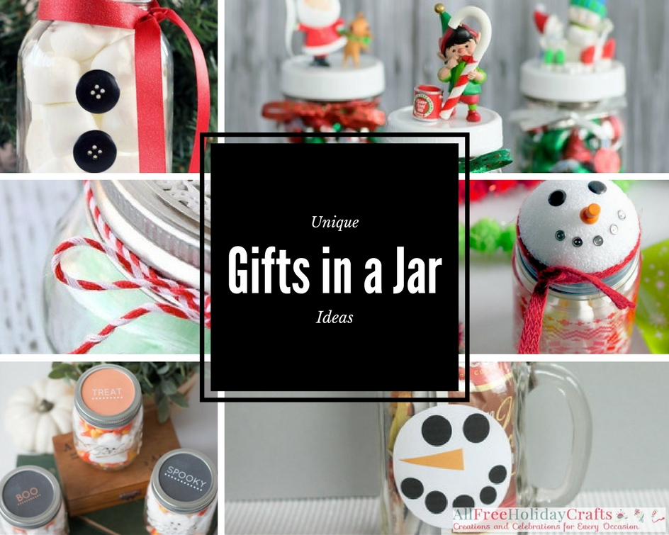 Unique Gifts in a Jar Ideas