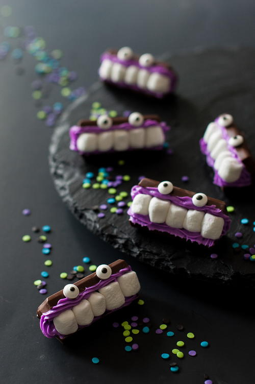 Monster Mash Marshmallow Monsters