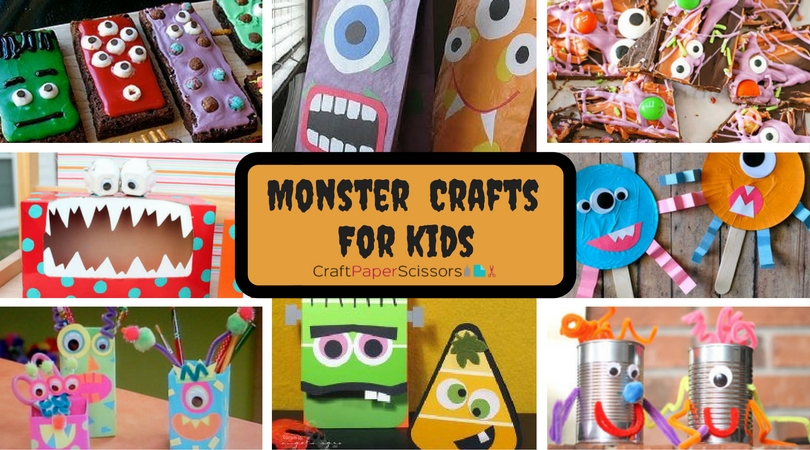 16 Monster Crafts for Kids