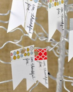 Washi Tape Thankful Tree