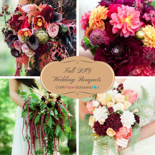 Fall DIY Wedding Bouquets