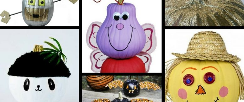 16 No-Carve Pumpkin Ideas for Kids