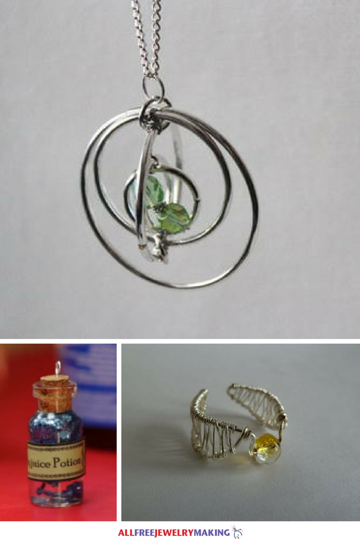 Harry Potter DIY Jewelry Projects that You Can't Resist