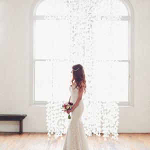 Elegant Wax Paper Backdrop