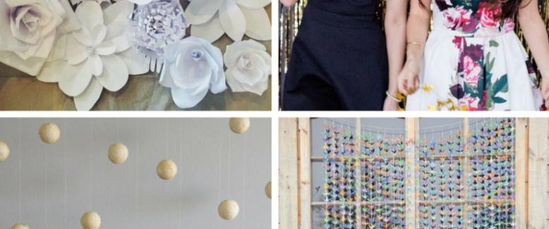 21 Instagram-Worthy DIY Wedding Backdrops