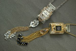 Chanel Inspired Potion Necklace