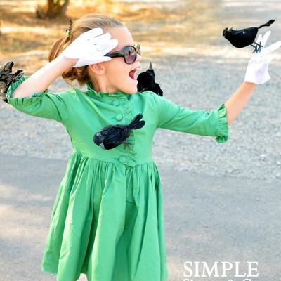 The Birds Last Minute Costume