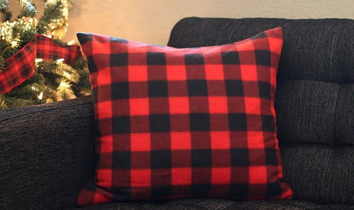 Plaid DIY Pillow Cases