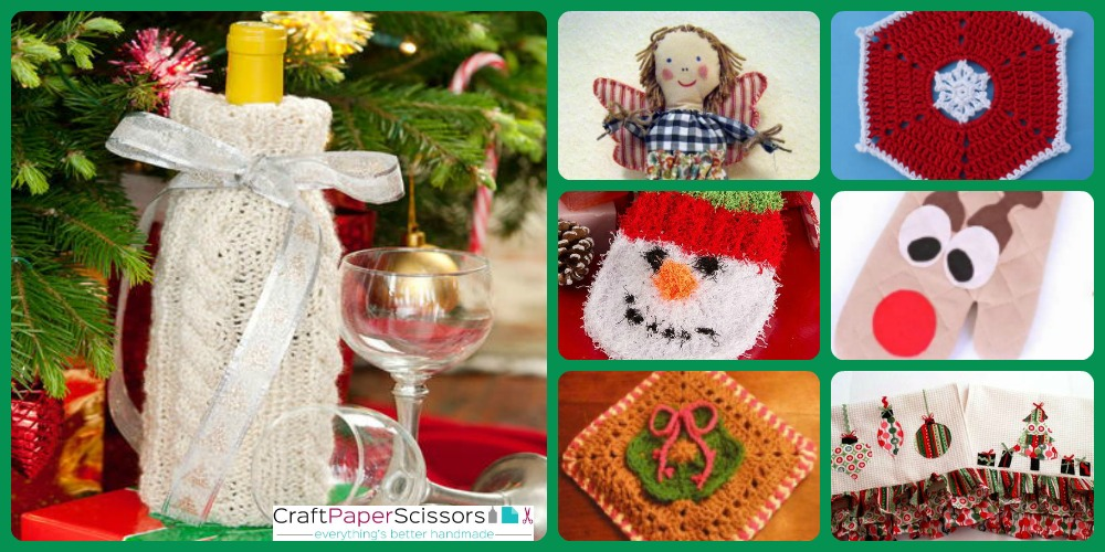 11 Christmas Potholder Patterns and Other Homemade Kitchen Gifts