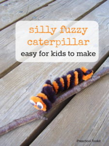 How to Make a Fuzzy Little Caterpillar
