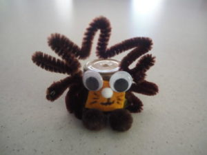 Recycled K-Cup Lion Craft