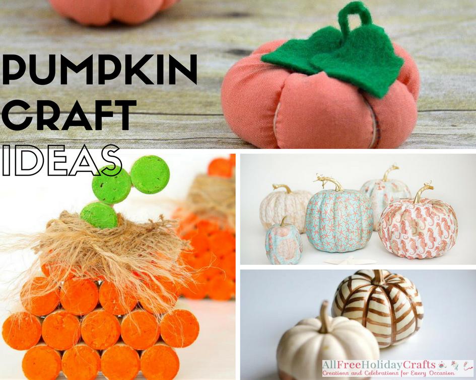 Pumpkin Craft Ideas for November