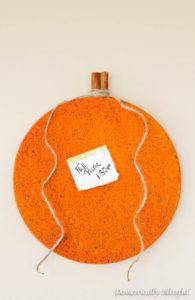 Cute Pumpkin DIY Bulletin Board