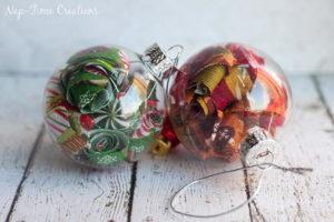 Fabric Fill Ornament