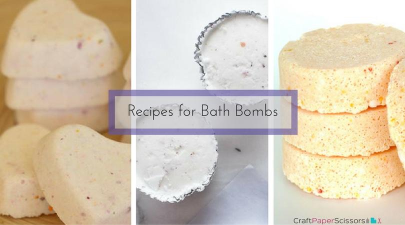 13 Recipes for Bath Bombs