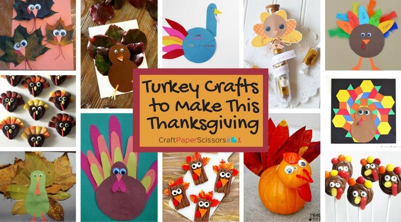 19 Turkey Crafts to Make This Thanksgiving