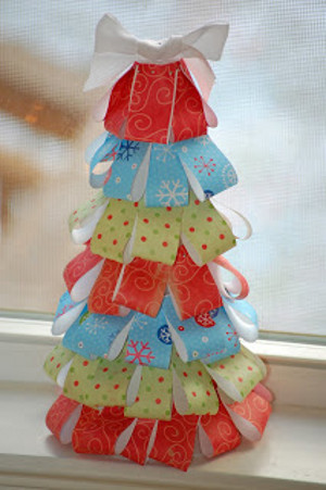 Mess Free Paper Christmas Tree