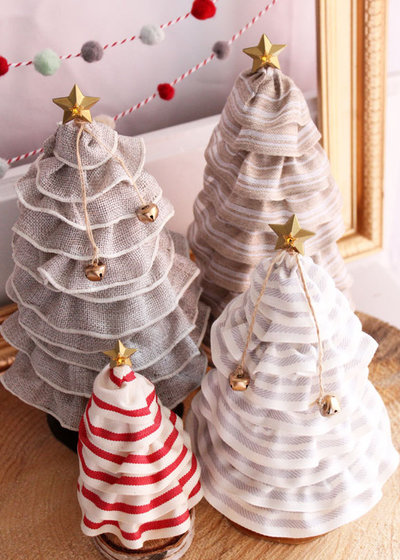 Whimsical Christmas Tree Cones