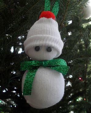 Itty Bitty Snowman Ornament