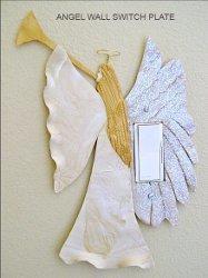 Angel Light Switch Decoration