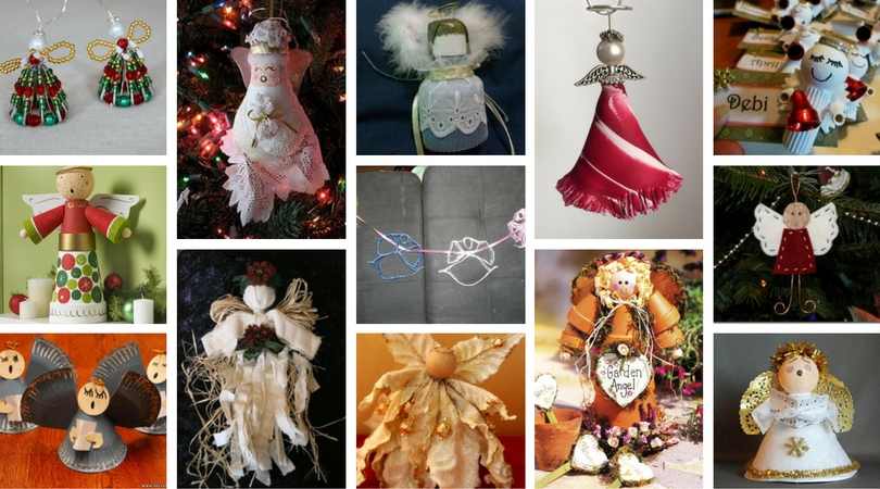 Diy Christmas Angels Ornaments.22 Diy Christmas Angel Crafts Craft Paper Scissors