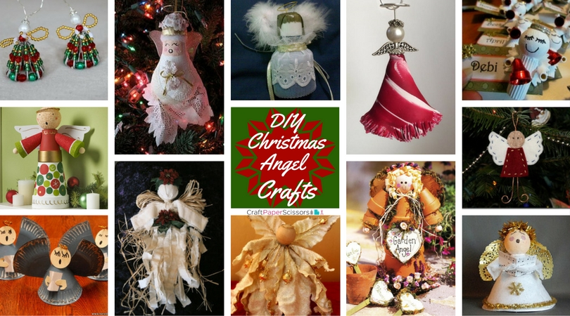 22 DIY Christmas Angel Crafts
