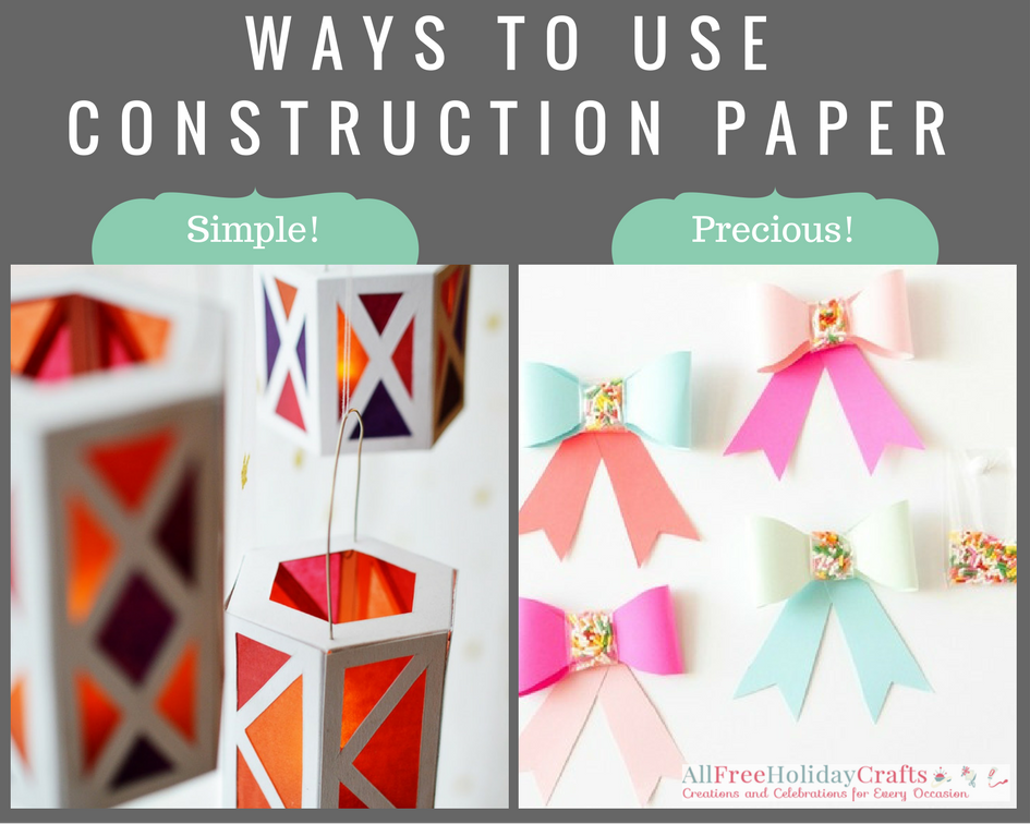 Ways to Use Construction Paper