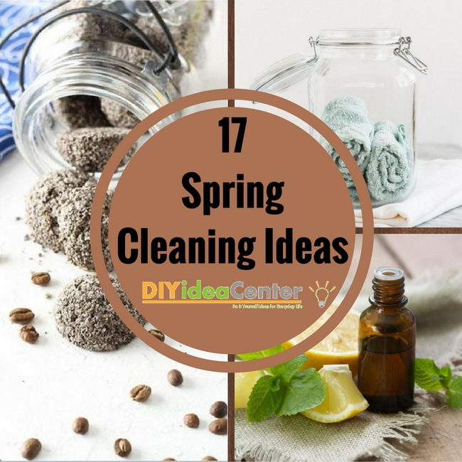 17 Spring Cleaning Ideas