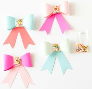 Simple Sprinkle Paper Bows