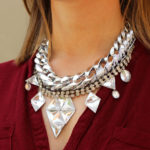 Layered Dazzling Statement Necklace