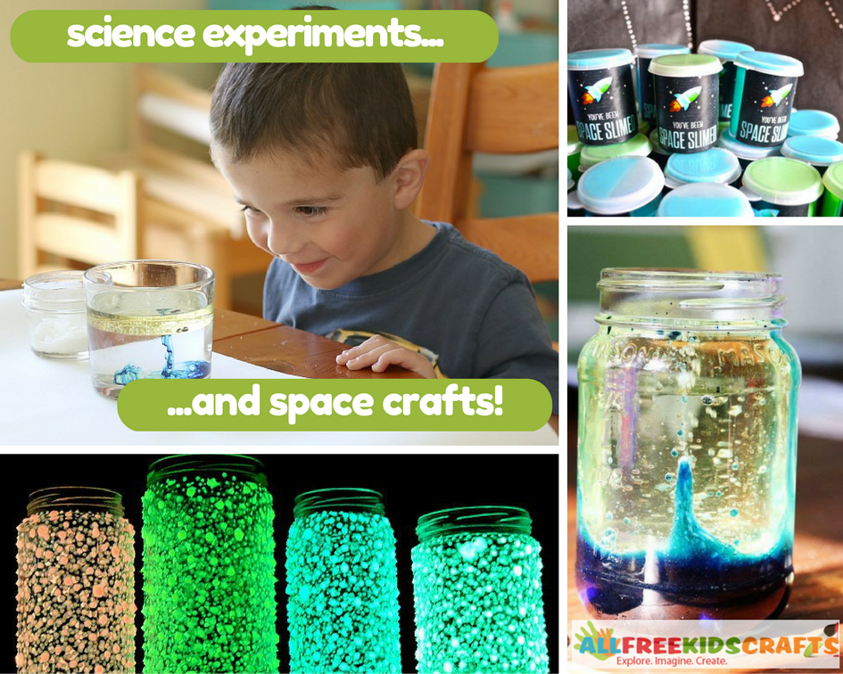 Cool Science Experiments and Space Crafts