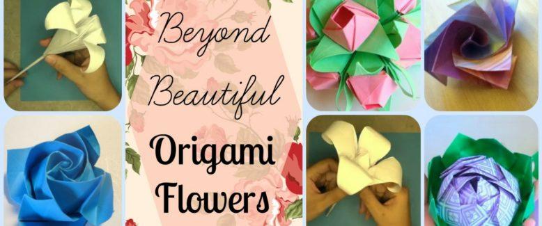 10 Beyond Beautiful Origami Flowers