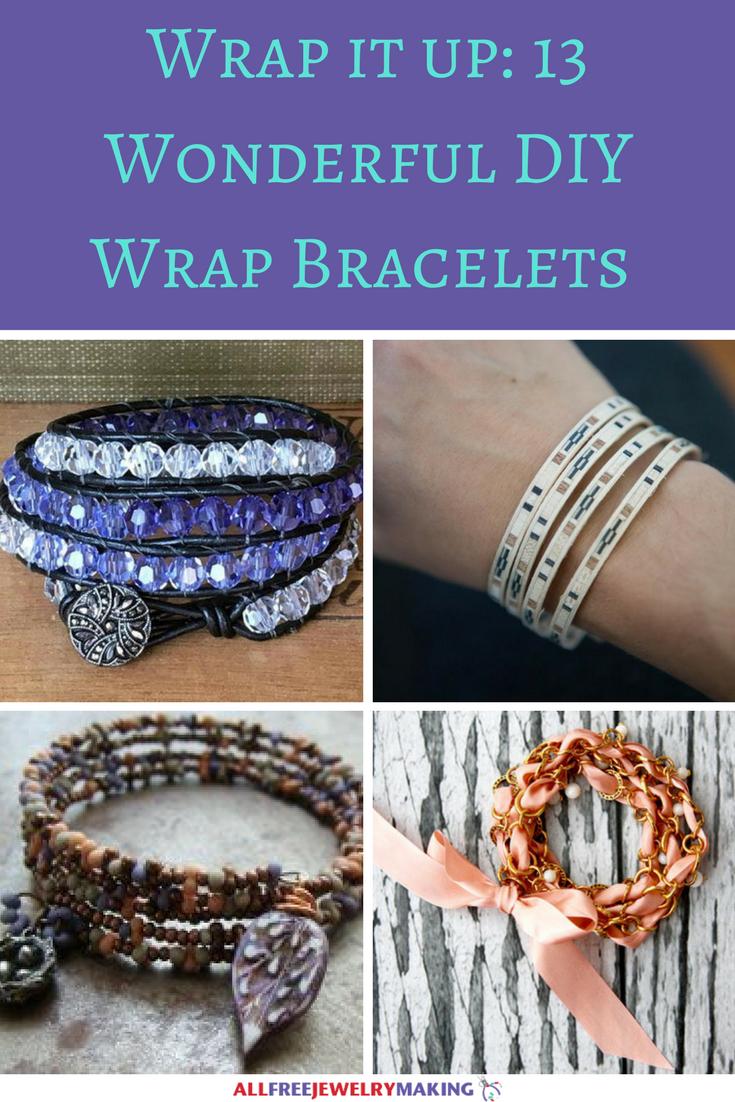 Wrap it up- 13 Wonderful DIY Wrap Bracelets