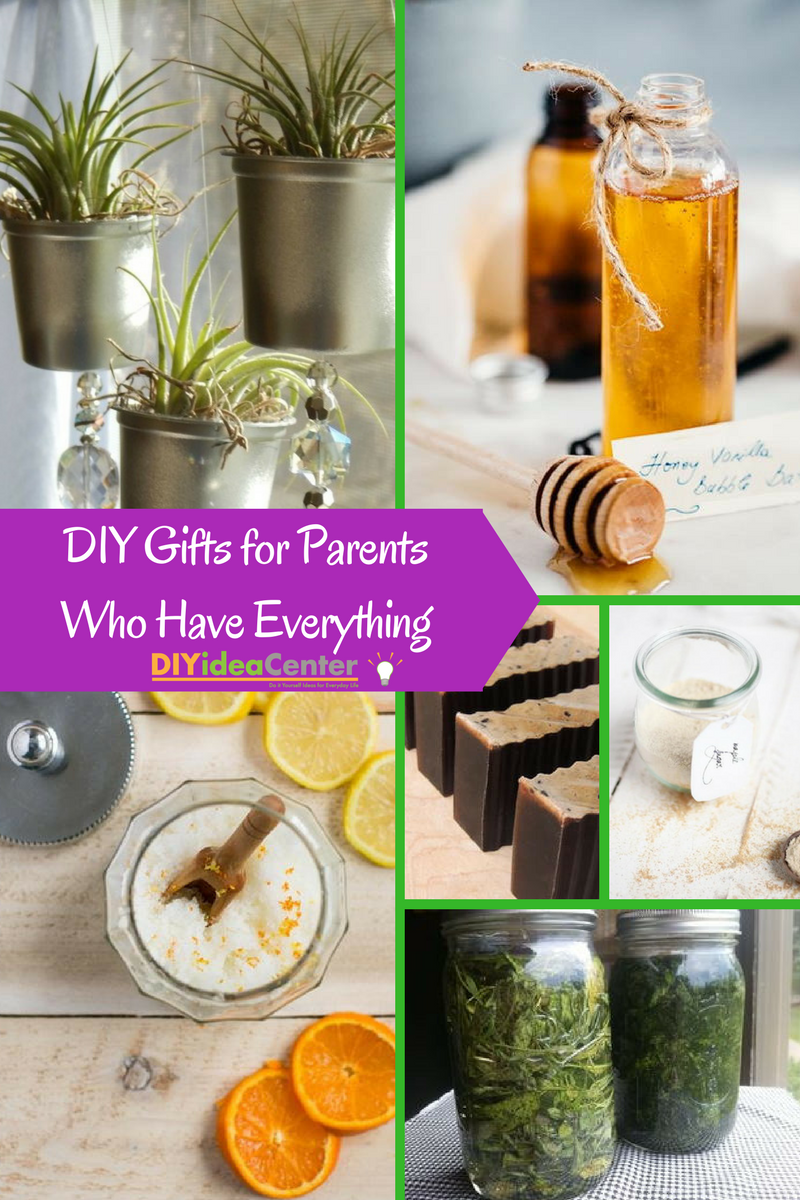 DIY Gifts for Parents Who Have Everything