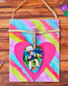 I-Heart-You DIY Photo Frame
