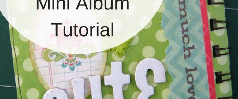 One Page Interactive Mini Album Tutorial