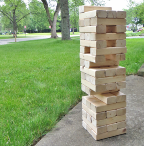 Giant DIY Jenga Game