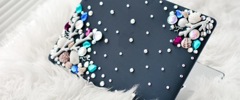 Crystal Mermaid Laptop Cover