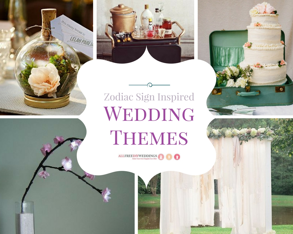 Zodiac Sign Inspired Wedding Themes