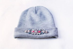 Bejewelled DIY Beanie Tutorial