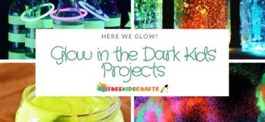Here We Glow: Glow in the Dark Kids' Projects