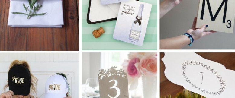The 25 Best Wedding Printables