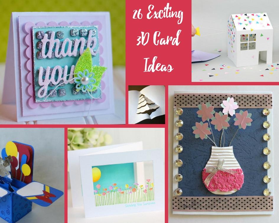 26 exciting 3d card ideas craft paper scissors surprising pop up cards m4hsunfo
