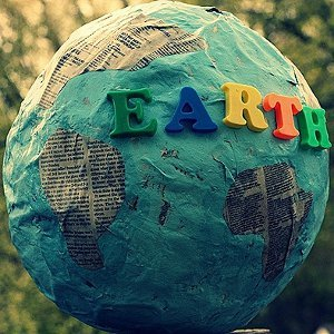 Earth Day Papier Mache Globe
